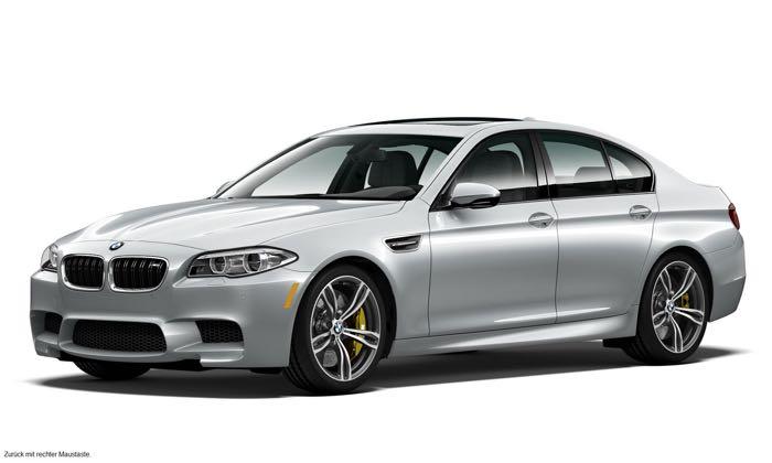 BMW M5 Pure Metal Silver