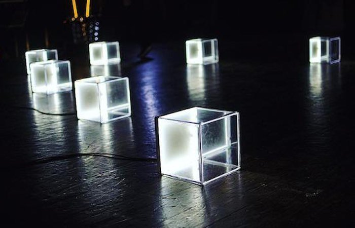 MIDI Triggered Arduino LED Cubes