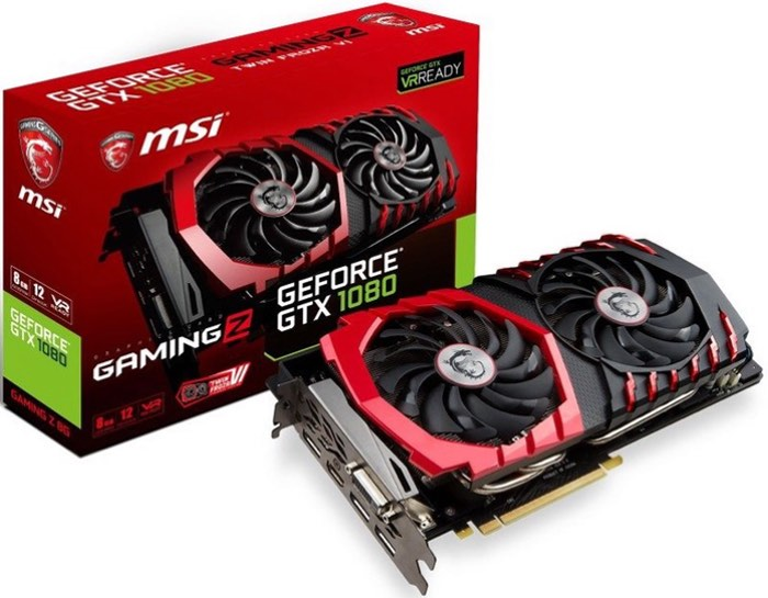 MSI GeForce GTX 1070 And GTX 1080 GAMING Z Graphics Cards