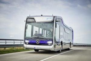 Mercedes Future Bus Drives Itself