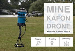 Mine Kafon Drone Airborne Demining System Hits Kickstarter (video)