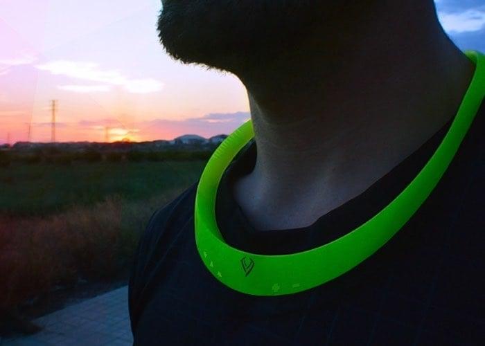 Necksound Wireless Wearable Speaker Offers Headphone Free Audio