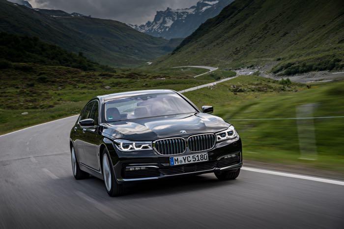 New BMW 740e iPerformance