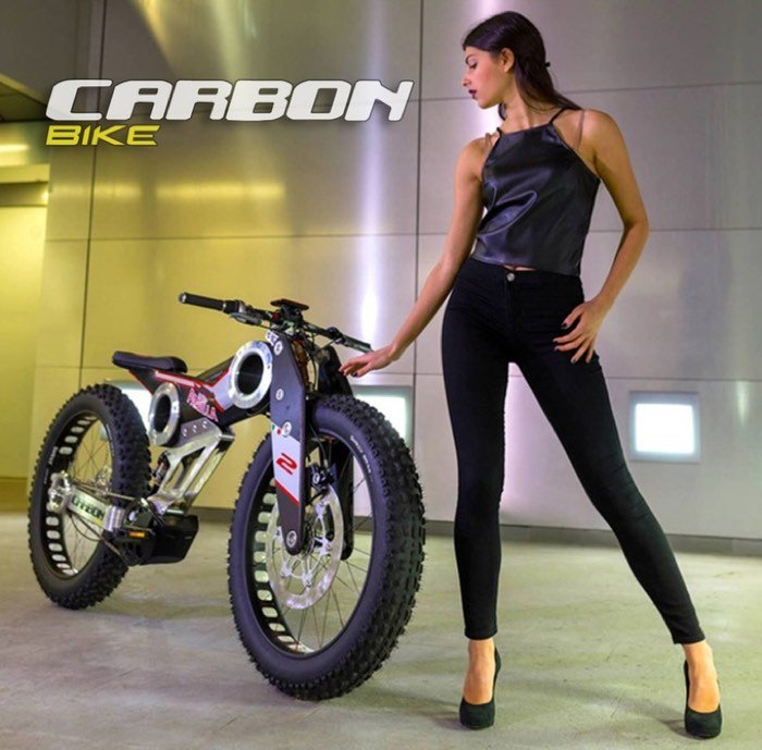 New Carbon SUV e-bike Unveiled