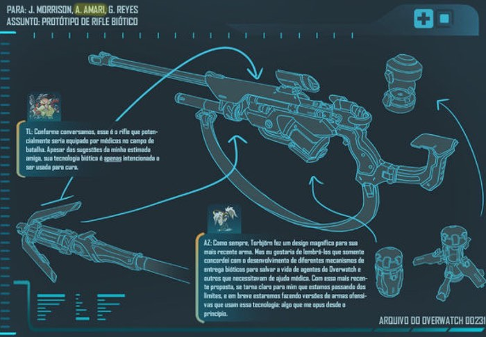 New Overwatch Hero Teased, Possibly Ana Amari