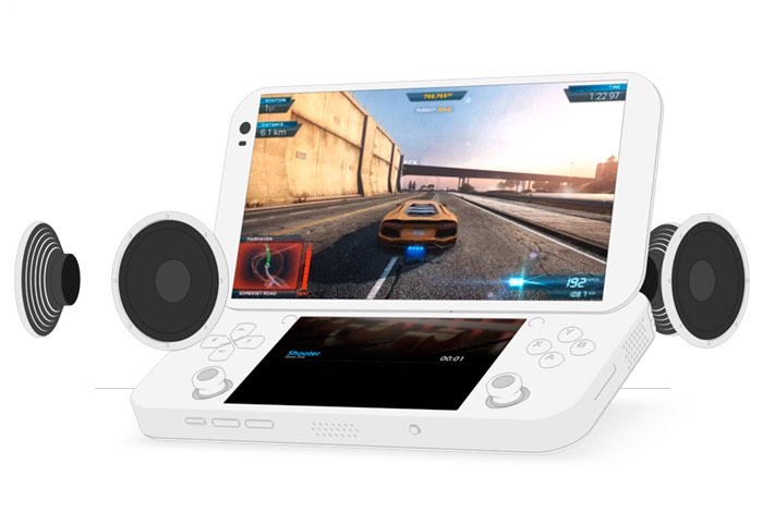 PGS Portable PC Games Console (video)