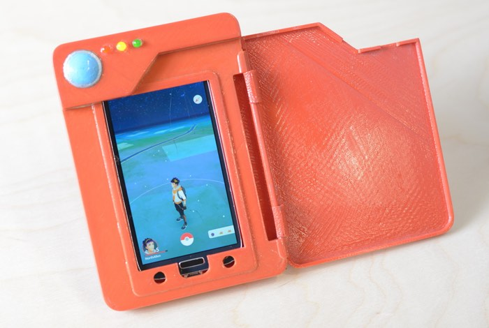 Pokedex Battery Case