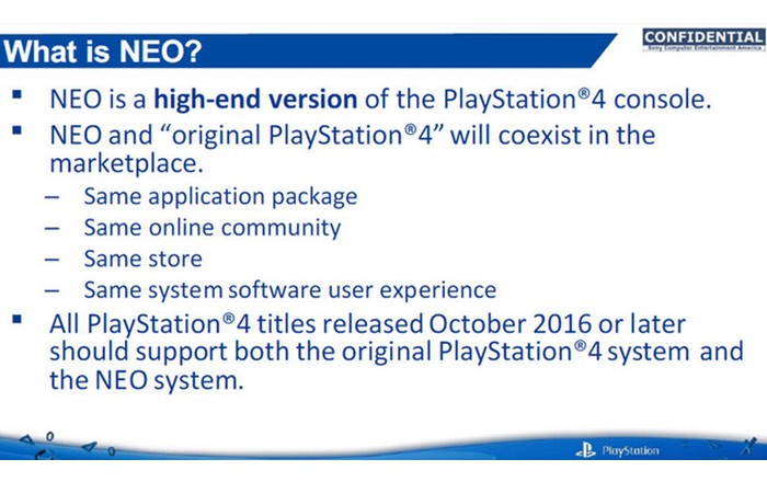 PlayStation 4 Neo Documents