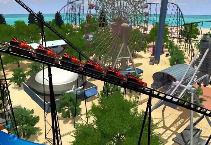 PlayStation VR Rollercoaster Dreams