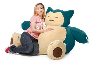 Pokémon Snorlax Beanbag Now Available To Pre-Order For $150