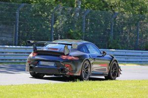 Spy Shots Of The New Porsche 911 GT2 RS