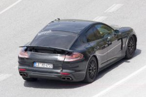 Porsche Pajun Gets Photographed In Testing