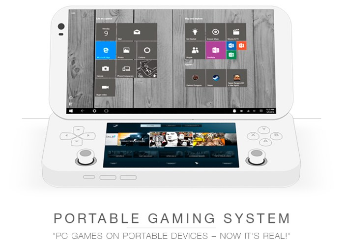 Portable PC Games Console