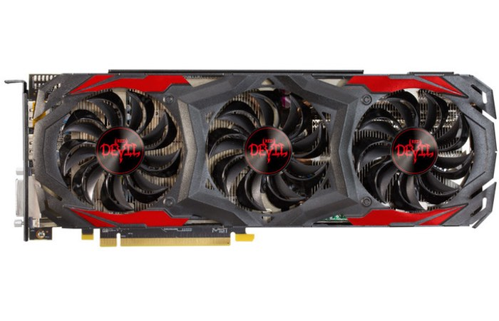 PowerColor Radeon RX 480 RED DEVIL Graphics Card