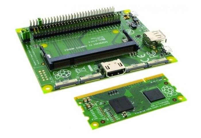 Raspberry Pi 3 Compute Module