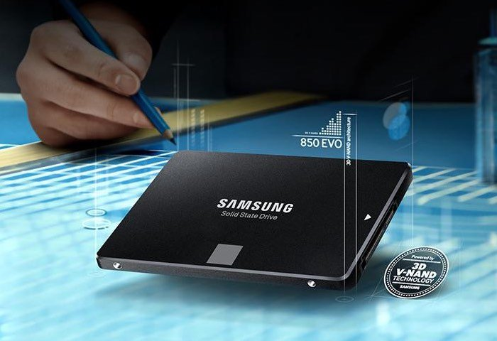 Samsung's 850 EVO SSD family now boasts a 4TB monster