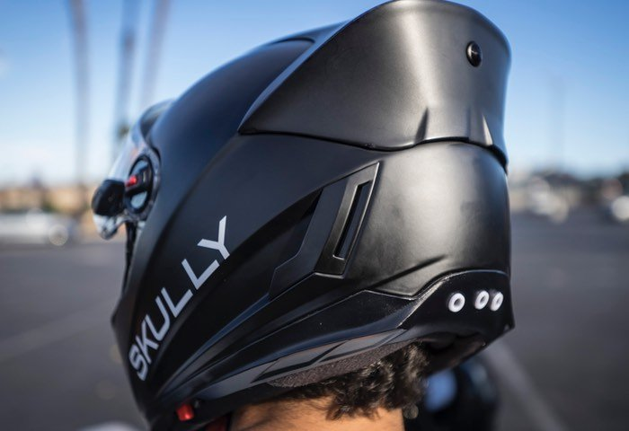 Scully AR Smart Motorcycle Helmet