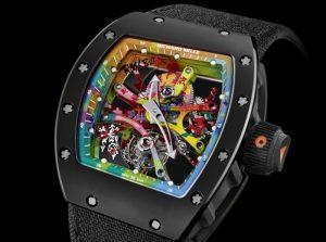 Street Art RM 68-01 Kongo Tourbillon Mechanical Watch Unveiled