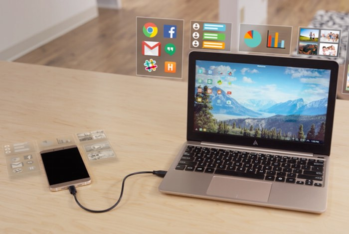 Superbook Transforms Your Smartphone Into A Laptop