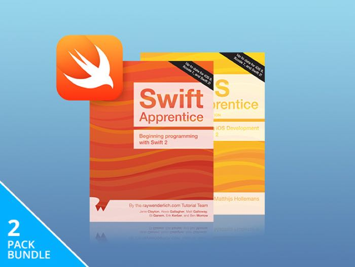 Swift & iOS Beginner eBook Bundle
