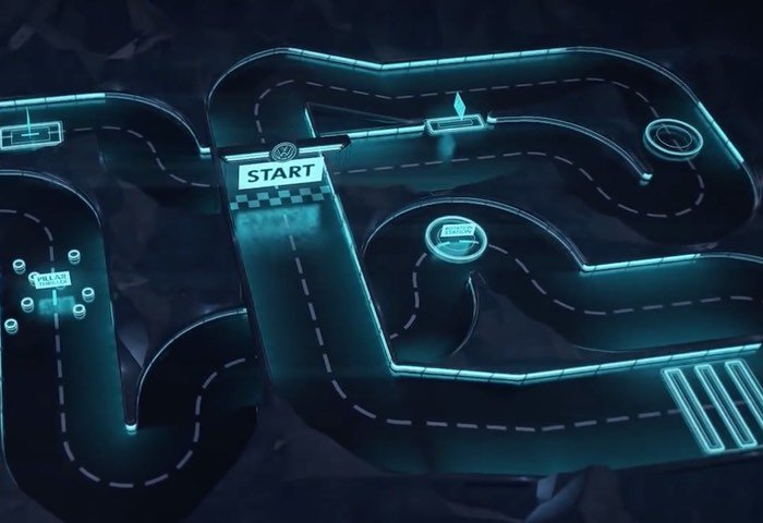 VW Creates Internet Connected RC Track