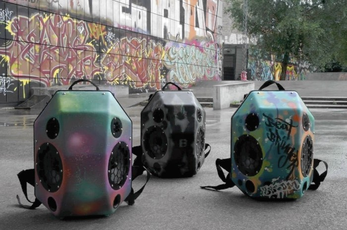 Wearable Speaker Backpack Makes For Great Mobile Parties