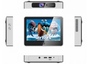 Windows 10 Mini PC Equipped With Projector And Touchscreen