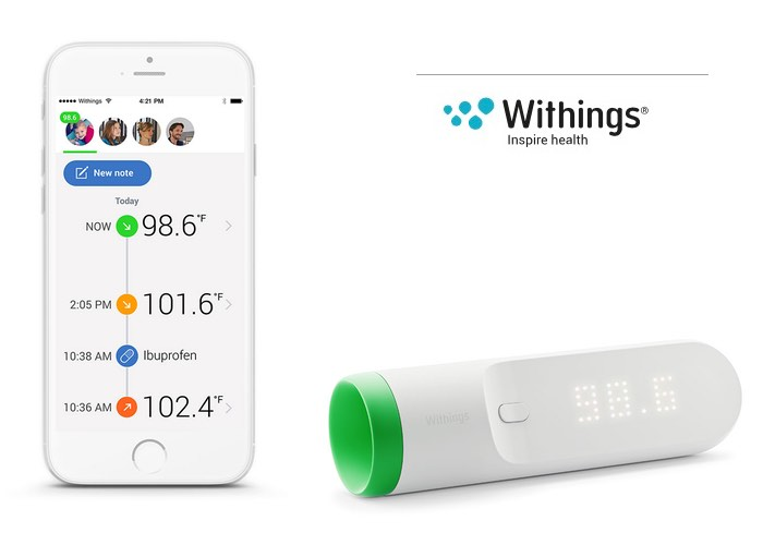 Withings Thermo Contactless Thermometer