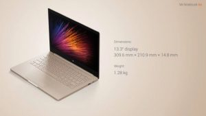 Xiaomi Mi Notebook Air Laptop Announced