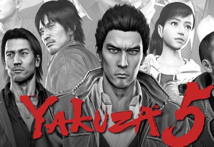 Yakuza 5 Now Free Via PlayStation Plus