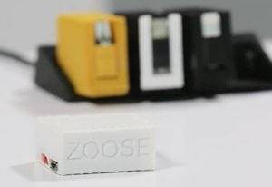 Zoose Mini Smartphone Battery Pack Charger (video)