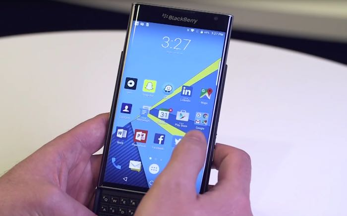 AT&T BlackBerry Priv Gets Android Marshmallow