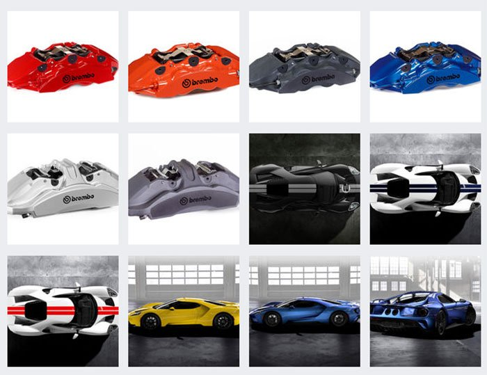 Ford Gt Colors