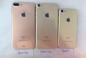 We May See Three New iPhone 7 Handsets This Year