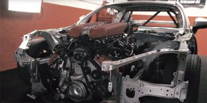 Toyota 86 Gets filled with Ferrari V8