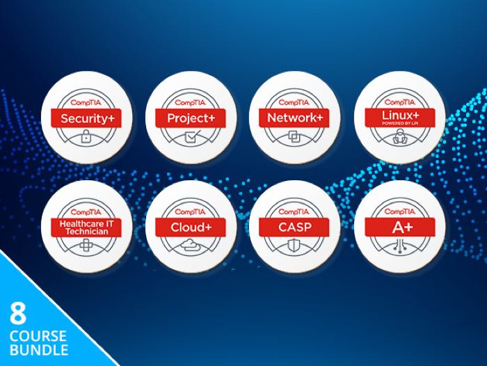 Ultimate CompTIA+ Certification Bundle Save 96%