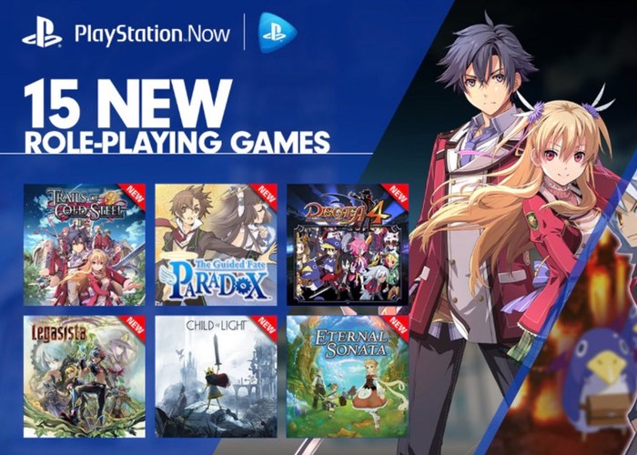 RPG PlayStation Now