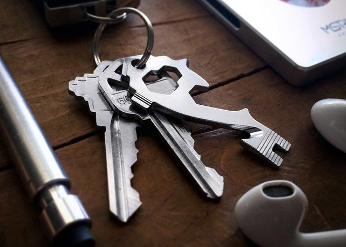 MSTR KEY 20-in-1 Multitool Keytool (video)
