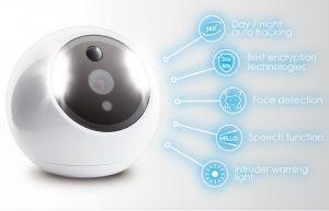 ATOM Intelligent Security Camera (video)