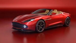 Aston Martin Vanquish Zagato Volante Revealed At Pebble Beach