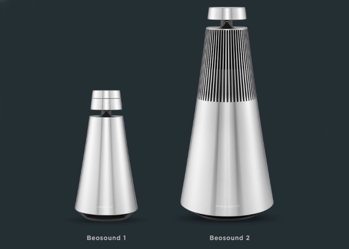 new bang olufsen wireless beosound 1 2 speakers launch from 1 495 video geeky gadgets. Black Bedroom Furniture Sets. Home Design Ideas