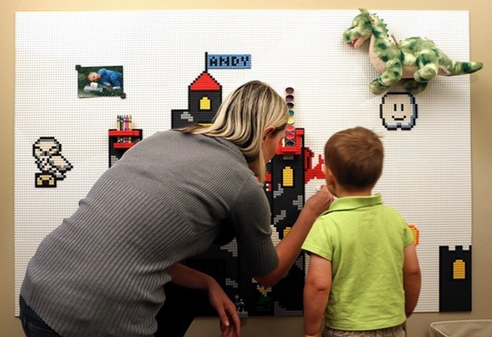 Brik Tile LEGO Compatible Wall Tiles