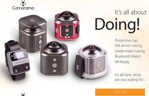 Cameraman 4K Virtual Reality Action Camera (video)
