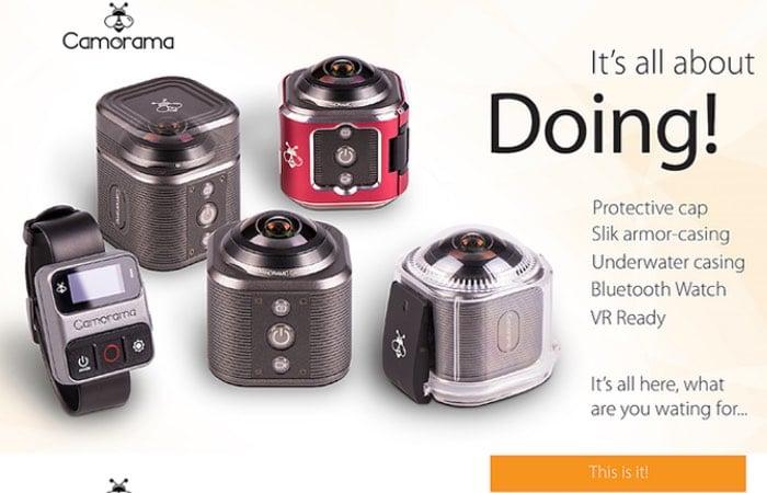 Cameraman 4K Virtual Reality Action Camera