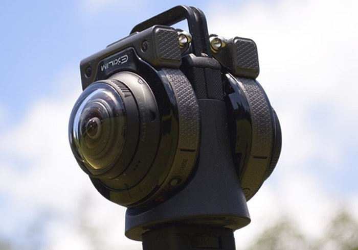 Casio 360 Degree Camera With Detachable Lens