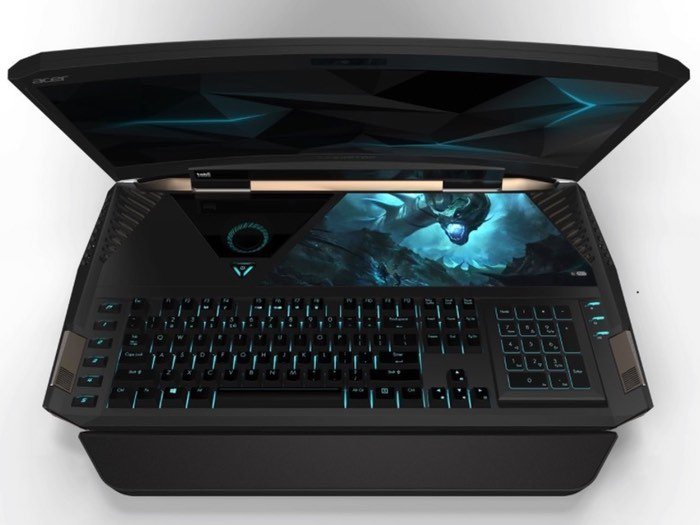 Curved Screen Gaming Laptop