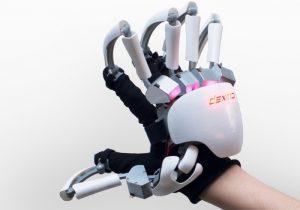 Dexta Touch VR Exoskeleton Gloves Demonstrated (video)
