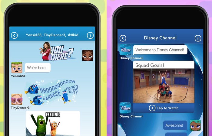 Disney MIX Family Friendly Messaging App