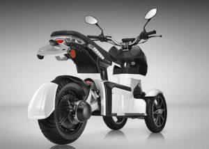 Doohan EV3 iTank Electric 3-Wheel Scooter (video)