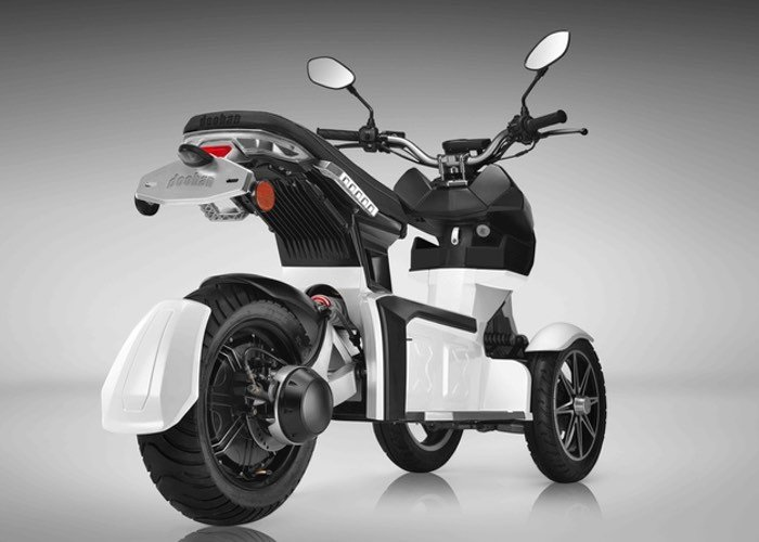 Doohan EV3 iTank Electric 3-Wheel Scooter